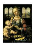 Virgin and Child, C.1473 Giclee Print by Leonardo da Vinci