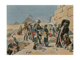 Bonaparte with the Savants in Egypt Giclee Print by Maurice Henri Orange