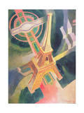 The Eiffel Tower, 1928 Giclee Print by Robert Delaunay