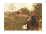 Moving On, 1891 Giclee Print by Hubert von Herkomer