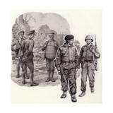 Body Armour from World War 2 to Today Giclee Print by Pat Nicolle