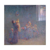 The Firstborn, 1914 Giclee Print by Plinio Nomellini