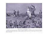 The Battle of Magnesia 190 BC Giclee Print by Leslie Mosley