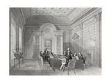 The Admiralty Board Room Giclee Print by Thomas Hosmer Shepherd