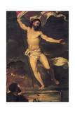Resurrection of Christ, Detail from Central Panel of Averoldi Altarpiece Giclee Print by  Titian (Tiziano Vecelli)