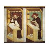 Dominican Monks Giclee Print by Tommaso Da Modena