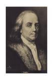 Benjamin Franklin Giclee Print