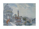 The Refectory, Golden Temple, Amritsar, 2012 Giclee Print by Tim Scott Bolton