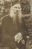 Leo Tolstoy, Russian Novelist Photographic Print