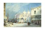 St Mark's Square in Venice Giclee Print by William Wyld