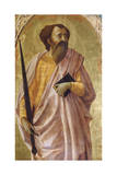 St Paul, Panel from Altarpiece of Church of Carmine in Pisa Giclee Print by Tommaso Masaccio