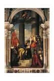 Pesaro Madonna Giclee Print by  Titian (Tiziano Vecelli)