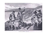 The Capture of Murat Ad 1815 Giclee Print by William Barnes Wollen