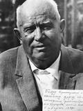 Nikita Khrushchev, 1971 Photographic Print