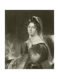 Felicia Hemans Giclee Print by William Edward West