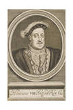 Henry VIII Giclee Print by William Faithorne