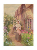 Picking Roses Giclee Print by William Affleck