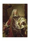 Austria, Vienna, Portrait of Philipp Ludwig Wenzel Count of Sinzendorf Giclee Print