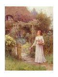 At the Garden Gate Giclee Print by William Affleck