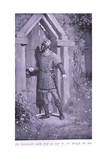 Sir Launcelot Could Find No Way In, for Though the Door Was Old and Worn it Held Fast Giclee Print by William Henry Margetson