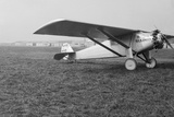 View of Charles Lindbergh's Airplane the Spirit of St. Louis Photographic Print