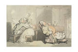 The Music Master, from 'Scenes at Bath' Giclee Print by Thomas Rowlandson