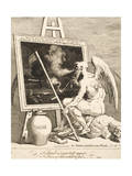 Time Smoking a Picture, March 1761 Giclee Print by William Hogarth