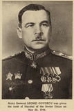 General Leonid Govorov Photographic Print