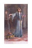 She Was known to Have Studied Magic While She Was Being Brought Up in the Nunnery Giclee Print by William Henry Margetson
