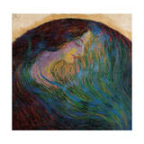 Woman's Head, 1909 - 1910 Giclee Print by Umberto Boccioni