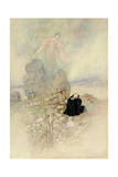 Tamamo, the Fox Maiden, 1910 Giclee Print by Warwick Goble