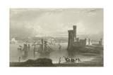 Black Rock Castle Giclee Print by William Henry Bartlett