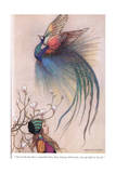 Out of the Fire Flew a Beautiful Bird Giclee Print by Warwick Goble