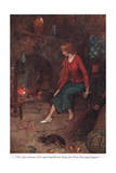The Only Membrant of Her Past Giclee Print by Warwick Goble