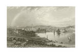 City of Waterford Giclee Print by William Henry Bartlett