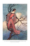 At Evening Tide She Climbed Giclee Print by Warwick Goble