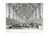Middle Temple Hall Giclee Print by Thomas Hosmer Shepherd