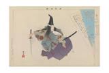 Atsumori, 1897 Giclee Print by Tsukioka Kogyo