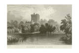 Blarney Castle in County Cork Giclee Print by William Henry Bartlett