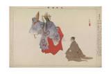 Yoshino Tennin, 1901 Giclee Print by Tsukioka Kogyo