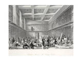 The Reading Room and Library at the British Museum Giclee Print by Thomas Hosmer Shepherd