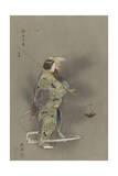Michi-Mori Giclee Print by Tsukioka Kogyo