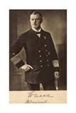 Deutscher Admiral Scheer, Standbild in Uniform Giclee Print