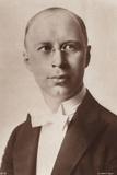 Portrait of Sergei Prokofiev Photographic Print