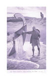 Sir Bors Found a Ship Waiting for Him Giclee Print by William Henry Margetson