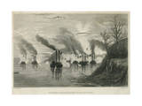 Porter's Bombardment of Grand Gulf, C.1863 Giclee Print by Thomas Nast