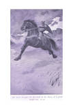 The Horse Brought Sir Percivale to the Shores of a Great Rough Sea Giclee Print by William Henry Margetson