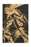Dynamism of a Human Body Giclee Print by Umberto Boccioni