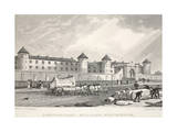 Penitentiary, Millbank, Westminster, from 'London and it's Environs in the Nineteenth Century' Giclee Print by Thomas Hosmer Shepherd
