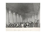 Bank of England - Five Pound Note Office Giclee Print by Thomas Hosmer Shepherd